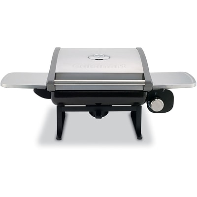 All-Foods Tabletop Outdoor LP Gas Grill with Veggie Panel