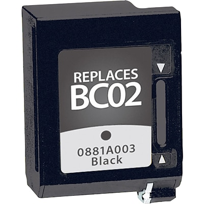 Quill Brand Remanufactured Canon BC-02 Ink Black (100% Satisfaction Guaranteed)
