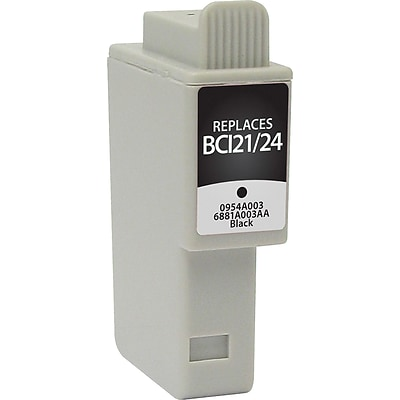 Quill Brand Remanufactured Canon BCI-21/BCI-24BK Ink Bk (100% Satisfaction Guaranteed)