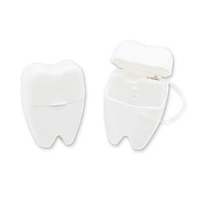 SmileMakers® Tooth Shaped Dental Floss; 48 PCS