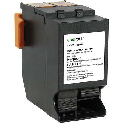 Quill Brand Remanufactured NeoPost/Hasler 34 Postage Red