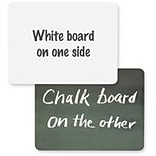 2-in-1 Board Chalk/Whiteboard Combo
