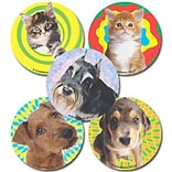 "SmileMakers® Fuzzy Friends Stickers; 2-1/2""H x 2-1/2""W, 100/Roll"