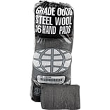 Global Material Steel Wool Hand Pad; Medium, #1, 12 sleeves per case
