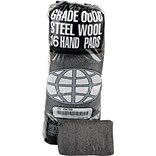 Global Material Steel Wool Hand Pad; Extra Coarse, #4, 12 sleeves per case