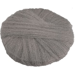 Global Material Radial Steel Wool Pads, 18 x 14, Grade #1, 12 pads/case