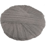 Global Material Radial Steel Wool Pads; 19 x 14, Grade #1, 12 pads/case