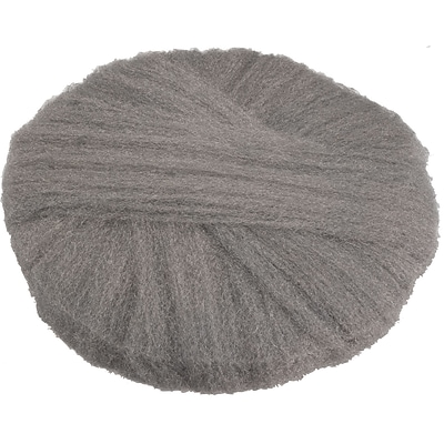 Global Material Radial Steel Wool Pads; 20 X 14, Grade #1, 12 pads/case