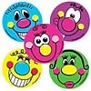 "SmileMakers® Goofy Faces Stickers; 2-1/2""H x 2-1/2""W, 100/Box"