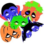 SmileMakers® Halloween Masks; 24 PCS