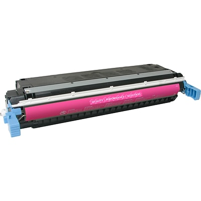 Quill Brand Remanufactured HP 645A Color Laser Magenta (100% Satisfaction Guaranteed)