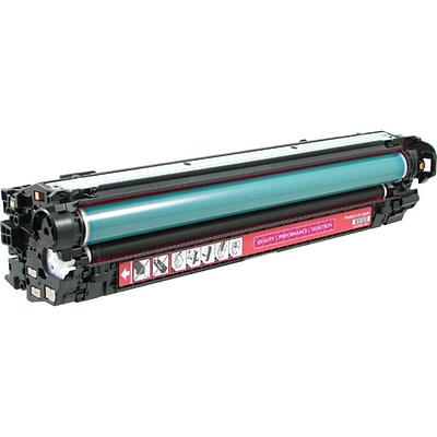Quill Brand® HP 650 Remanufactured Magenta Laser Toner Cartridge, Standard Yield (CE273A) (Lifetime Warranty)