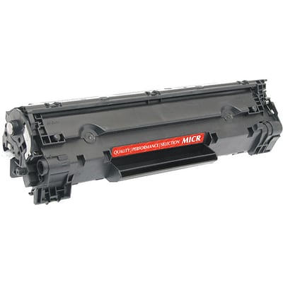 Quill Brand Remanufactured HP 78A Black MICR Standard MICR Toner Cartridge  (CE278A) (100% Satisfaction Guaranteed)