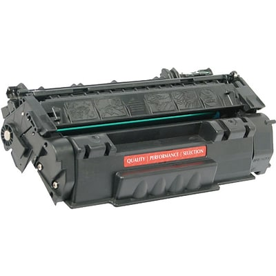 Quill Brand Remanufactured HP 49A Black MICR Standard MICR Toner Cartridge (100% Satisfaction Guaranteed)