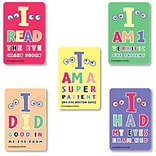 "SmileMakers® Eye Chart Stickers; 2-1/2""H x 2-1/2""W, 100/Box"