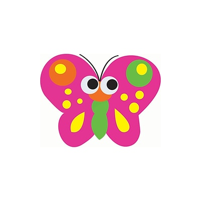 Magnetic Whiteboard Eraser, Butterfly, 3-1/2 x 3-1/2