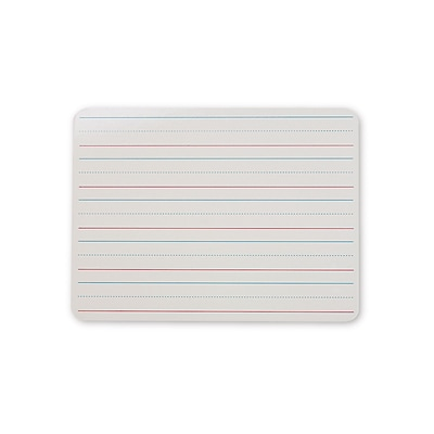 Double-Sided Dry Erase Boards, 9 x 12 Single