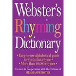 Websters Rhyming Dictionary