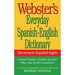 Websters Everyday Spanish-English Dictionary