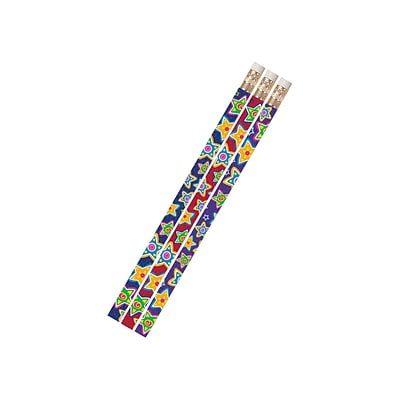 Mad About Stars, Multi color, 12/pkg