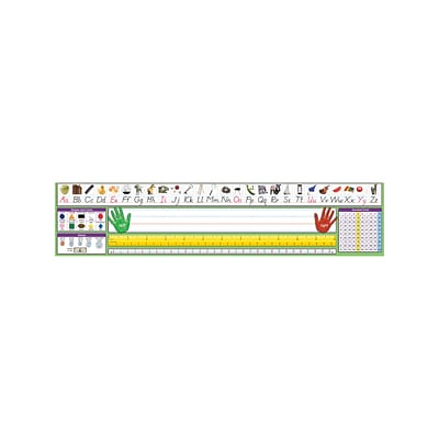 North Star Teacher Resources Primary Modern Manuscript Desk Plates 4 X 17 5 36 Pack Nst9041 Quill Com