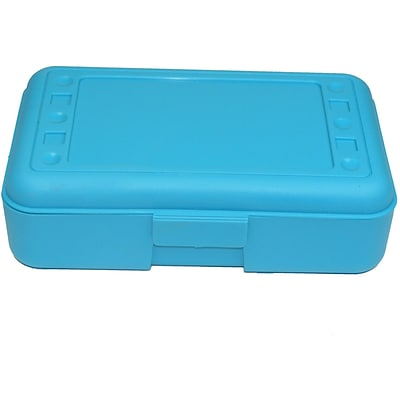 Pencil Box, Turquoise Case