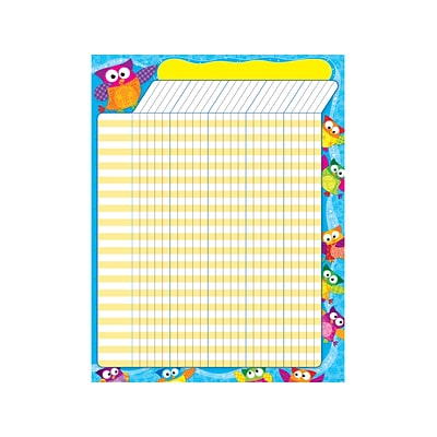 Owl-Stars!™ Incentive Chart–Large