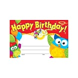 Trend Happy Birthday Owl-Stars! Recognition Awards, 30 CT (T-81044)
