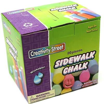 Chenille Kraft® Sidewalk Chalk; 20/Box