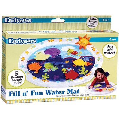 International Playthings® Fill N Fun Water Play Mat
