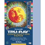 Tru-Ray® Construction Paper; Sky Blue, 9 X 12, 50 Sheets