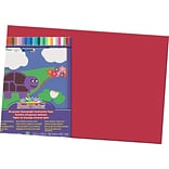 Pacon® Sunworks® Construction Paper; 12 X 18, Red