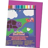 Pacon® Sunworks® Construction Paper; Magenta, 9 X 12, 50 Sheets