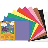 Pacon® Sunworks® Construction Paper; Assorted Colors, 12 X 18, 50 Sheets