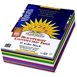 Pacon® Sunworks™ Heavyweight Construction Paper; Asstorted, 9 X 12, 300 Sheets