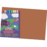 Pacon® Sunworks® Construction Paper; Brown, 12 X 18, 50 Sheets