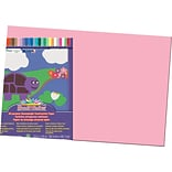 Pacon® Sunworks® Construction Paper; Pink, 12 X 18, 50 Sheets