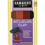 Sargent Art® Modeling Clay; Earth Tone Colors