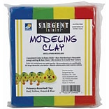 Sargent Art® Modeling Clay; Primary Colors