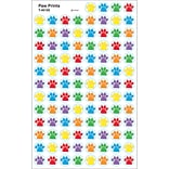 Trend® Paw Prints Superspots® & Supershapes Stickers; 800/Pkg