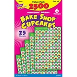 Trend® Cupcakes The Bake Shop™ Superspots® Stickers Value Pack