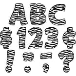 Teacher Created Resources® Zebra Print Funtastic Font 4 Ltrs Uppercase Pk; 81 Pcs.