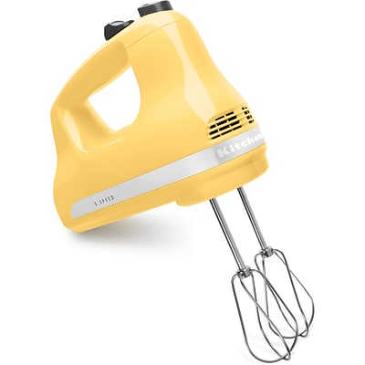 Ultra Power 5-Speed Hand Mixer - Majestic Yellow