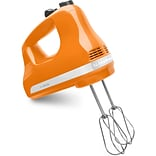 Ultra Power 5-Speed Hand Mixer - Tangerine