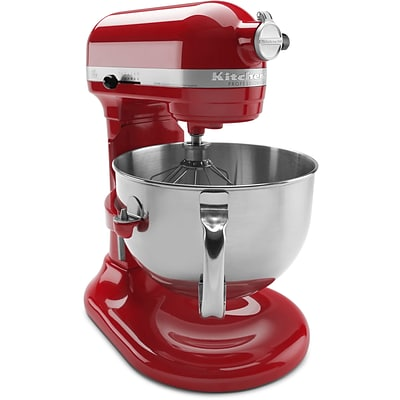 Professional 600 Series 6 Qt. Bowl-Lift Stand Mixer with Pouring Shield - Empire Red