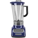 Diamond 5-Speed Blender with 60 Oz. One-Piece BPA-Free Diamond Shaped Pitcher - Cobalt Blue