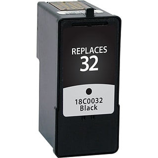 Quill Brand Remanufactured Lexmark #32 Ink Black (100% Satisfaction Guaranteed)