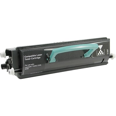 Quill Brand Remanufactured Lexmark E350 Laser Black High Yield Toner Cartridge (100% Satisfaction Guaranteed)