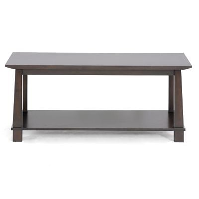 Baxton Studio Havana Wood Modern Coffee Table, 18.17 x 43.45 x 20.54, Brown