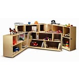 Whitney Brothers Toddler 24 Basic Single Storage; Natural